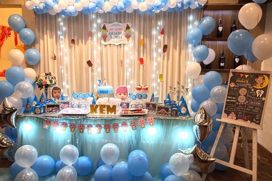 Các bước tổ chức tiệc đầy tháng quận 3 đáng nhớ cho bé yêu